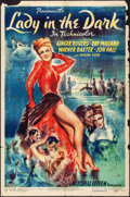 "Movie Posters:Comedy, Lady in the Dark (Paramount, 1944). One Sheet (27"" X 41""). Comedy.. ..."
