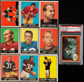 Football Cards:Sets, 1961 Topps Football Complete Set (198)....