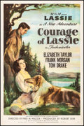 """Movie Posters:Drama, Courage of Lassie (MGM, 1946). One Sheet (27"""" X 41""""). Drama.. ..."""