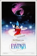 """Movie Posters:Animation, Fantasia & Other Lot (Buena Vista, R-1990). 50th Anniversary One Sheet & One Sheet (27"""" X 41""""). Animation.. ... (Total: 2 Items)"""