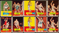 Basketball Cards:Lots, 1957 Topps Basketball Collection (66)....