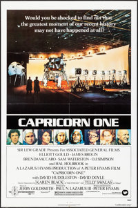 """Capricorn One & Other Lot (Warner Brothers, 1978). One Sheets (2) (27"""" X 41""""), Mini Lobby Card Set of 8, &..."""