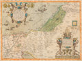 Books:Maps & Atlases, [Holy Land]. Willem Blaeu and others. Group of four Holy Land Maps. Amsterdam: circa late sixteenth to early eighteenth cent... (Total: 4 Items)