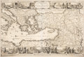 Books:Maps & Atlases, [Mediterranean, Near East and Africa]. Guillaume de l'Isle and others. Group of Six Maps Featuring the Mediterranean Sea. Pa... (Total: 6 Items)