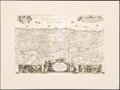 Books:Maps & Atlases, [Holy Land]. Group of Eight Holy Land Maps. Paris and elsewhere: circa 17th to 19th centuries. Engraved maps of Palestine an... (Total: 8 Items)