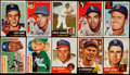 Baseball Cards:Lots, 1953 Through 1956 Topps Baseball Collection (160) mainly commons....
