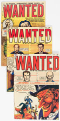 Golden Age (1938-1955):Crime, Wanted Comics #24 and 25-28 Group (Toytown, 1950).... (Total: 4 Comic Books)