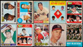Baseball Cards:Lots, 1950's - 1960's Topps, Red Heart & O-Pee-Chee Baseball Stars& Hall of famers Collection (15) - With Rookies. ...