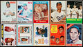 Baseball Cards:Lots, 1940's - 1970's Topps, Bazooka & O-Pee-Chee Baseball Stars& Hall of Famers Collection (20) - With Rookies. ...