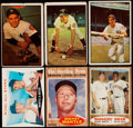 Baseball Cards:Lots, 1950's - 1960's New York Yankees HoFers Card Collection (6). ...