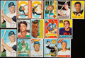 Baseball Cards:Lots, 1956-64 Topps Baseball/Football Collection (15) With Stars....