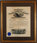 Autographs:U.S. Presidents, Woodrow Wilson Military Appointment Signed ...