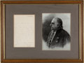 Autographs:Non-American, Jean-Martin Charcot Typed Letter Signed...