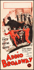 """Movie Posters:Comedy, The Great American Broadcast (20th Century Fox, 1946). First Post-War Release Italian Locandina (13.25"""" X 27.5""""). Comedy.. ..."""