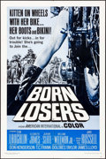 "Movie Posters:Exploitation, Born Losers & Other Lot (American International, 1967). OneSheet (27"" X 41"") & Lobby Cards (3) (11"" X 14""). Exploitation..... (Total: 4 Items)"