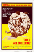 """Movie Posters:Sexploitation, Girls are for Loving & Others Lot (Continental, 1973). OneSheets (3) (27"""" X 41""""). Sexploitation.. ... (Total: 3 Items)"""