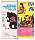 "Movie Posters:Comedy, The Return of the Pink Panther & Other Lot (United Artists, 1975). Folded, Very Fine. Australian Daybills (4) (13"" X 27"" - 1... (Total: 5 Items)"