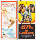 "Movie Posters:Sexploitation, Rosie Dixon - Night Nurse & Others Lot (Columbia, 1978).Australian Daybills (4) (Approximately 13.5"" X 27"", 30"").Sexploita... (Total: 4 Items)"