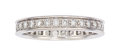 Estate Jewelry:Rings, Diamond, White Gold Eternity Band, Cartier . ...