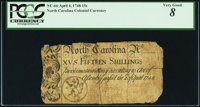North Carolina April 4, 1748 15s PCGS Very Good 08