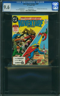 Adventure Comics #497 (DC, 1983) CGC NM+ 9.6 WHITE pages