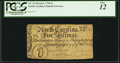 Colonial Notes:North Carolina, North Carolina March 9, 1754 5s Squirrel PCGS Fine 12.. ...