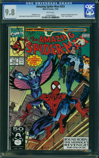 The Amazing Spider-Man #353 (Marvel, 1991) CGC NM/MT 9.8 WHITE pages