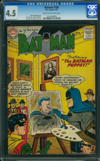 Batman #106 (DC, 1957) CGC VG+ 4.5 CREAM TO OFF-WHITE pages