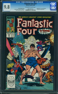 Fantastic Four #327 (Marvel, 1989) CGC NM/MT 9.8 OFF-WHITE TO WHITE pages