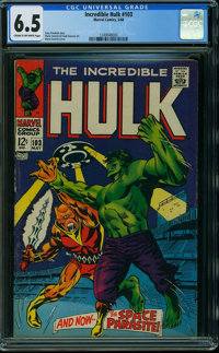 The Incredible Hulk Comic Books | Heritage Auctions