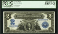 Large Size:Silver Certificates, Fr. 253 $2 1899 Silver Certificate PCGS Choice About New 58PPQ.....