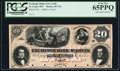 Obsoletes By State:Missouri, St. Louis, MO - Exchange Bank of St. Louis, at___ $20 18__ MO-10 G46a. Proof.. ...