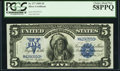 Large Size:Silver Certificates, Fr. 277 $5 1899 Silver Certificate PCGS Choice About New 58PPQ.....