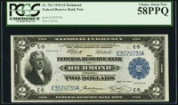 Fr. 761 $2 1918 Federal Reserve Bank Note PCGS Choice About New 58PPQ