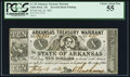 Obsoletes By State:Arkansas, (Little Rock), AR- State of Arkansas $10 July 18, 1862 Cr. 55 Inverted Back. ...