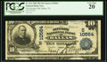 Error Notes:National Bank Note Errors, Dallas, TX - $10 1902 Plain Back Fr. 631 The Security NB Ch. # (S)10564. ...