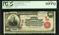 Ironton, OH - $10 1902 Red Seal Fr. 613 The First NB Ch. # (M)98