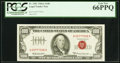 Small Size:Legal Tender Notes, Fr. 1551 $100 1966A Legal Tender Note. PCGS Gem New 66PPQ.. ...