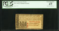 Colonial Notes:New Jersey, New Jersey February 20, 1776 15s. PCGS Extremely Fine 45. John HartSigned. . ...