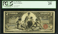 Large Size:Silver Certificates, Fr. 248 $2 1896 Silver Certificate PCGS Very Fine 25.. ...