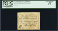 Colonial Notes:North Carolina, North Carolina April 2, 1776 $1/8 Heron PCGS Extremely Fine 45.. ...