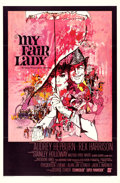 "Movie Posters:Musical, My Fair Lady (Warner Brothers, 1964). One Sheet (27"" X 41"") BobPeak Artwork.. ..."