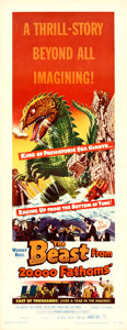 Movie Posters:Science Fiction, The Beast from 20,000 Fathoms (Warner Brothers, 1953)....