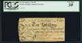 Colonial Notes:North Carolina, North Carolina April 4, 1748 10s PCGS Very Fine 30.. ...