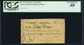 Colonial Notes:North Carolina, North Carolina March 9, 1754 4d Key PCGS Extremely Fine 40.. ...