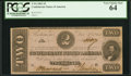 Confederate Notes:1862 Issues, T54 $2 1862 PF-11 Cr. 392. ...