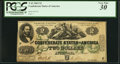 Confederate Notes:1862 Issues, T43 $2 1862 PF-3 Cr. 239.. ...