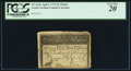Colonial Notes:North Carolina, North Carolina April 2, 1776 $5 Thrush PCGS Very Fine 20.. ...