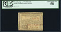 Colonial Notes:North Carolina, North Carolina August 8, 1778 $5 Behold! A New World PCGS Choice About New 58.. ...
