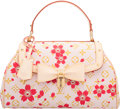 """Luxury Accessories:Bags, Louis Vuitton Monogram Red Cherry Blossom Sac Retro Bag. Condition: 1. 12"""" width x 8"""" Height x 4"""" Depth. ..."""